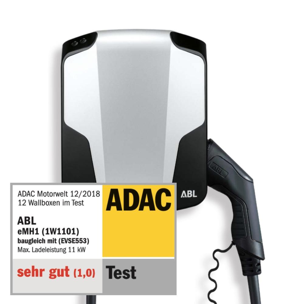 ABL Ladestation ADAC Testsieger