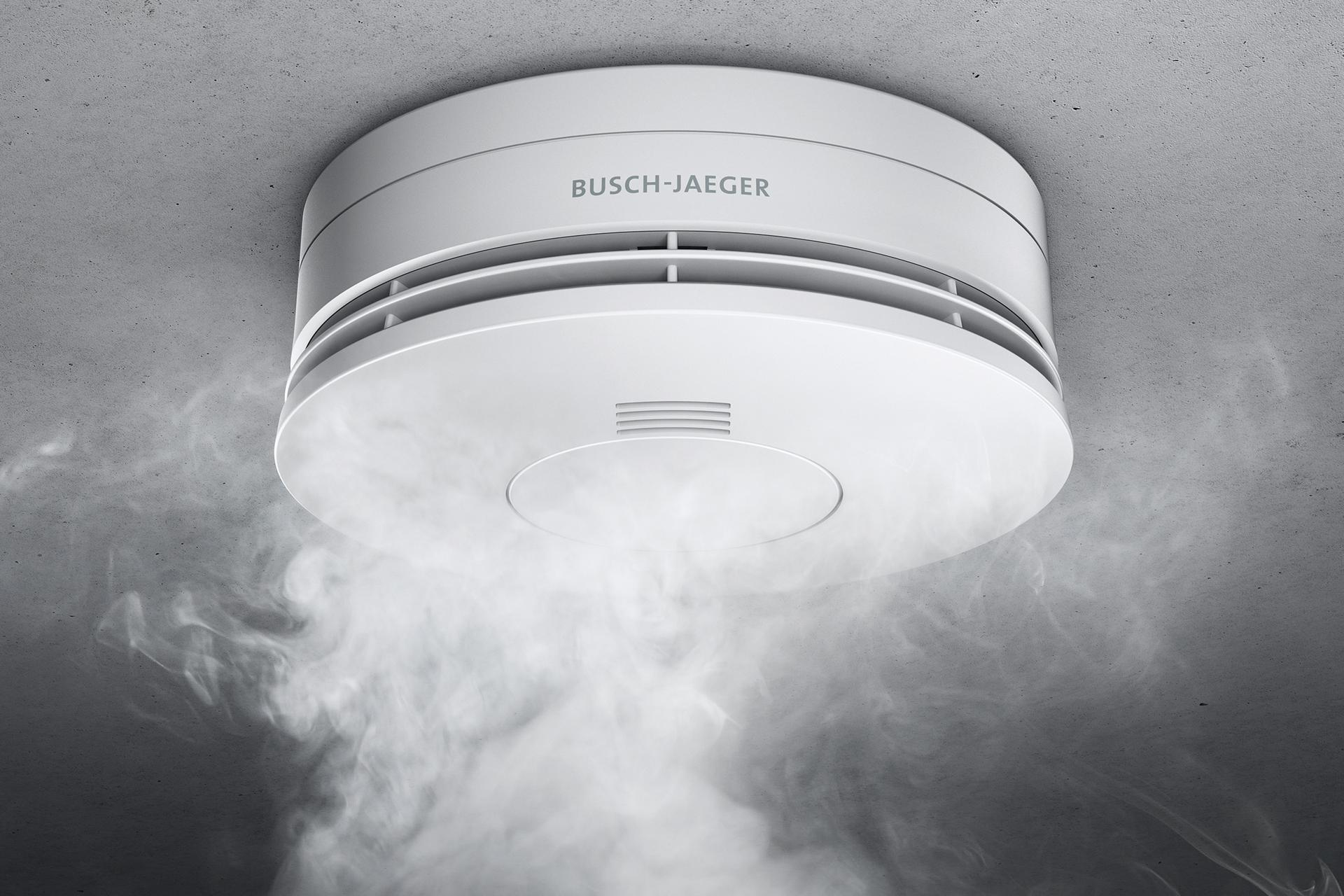 Rauchwarnmelder Busch Jaeger